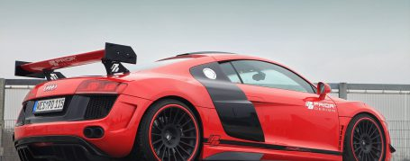 PD GT650 Side Skirts for Audi R8 Coupe/Spyder 42 Pre-facelift [2006-2014]