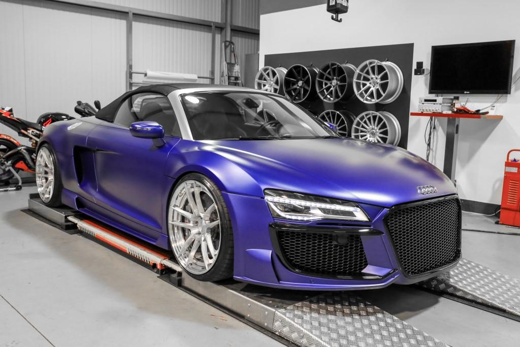 Audi R8 V10 Spyder Facelift Tuning Z Performance Zpforged 2