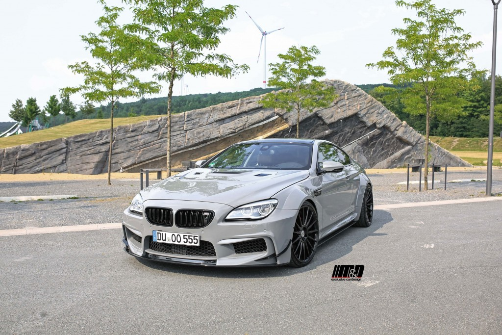 Bmw 6 Series F12f13m6 Coupecabrio Tuning Pd6xxwb Wide Body Kit