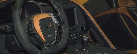 Chevrolet Corvette C7 Stingray Alcantara Interieur