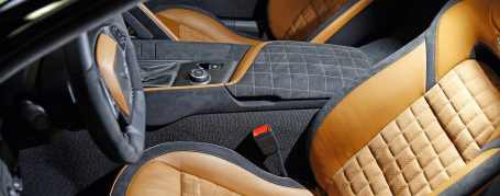 Chevrolet Corvette C7 Stingray Alcantara Interior