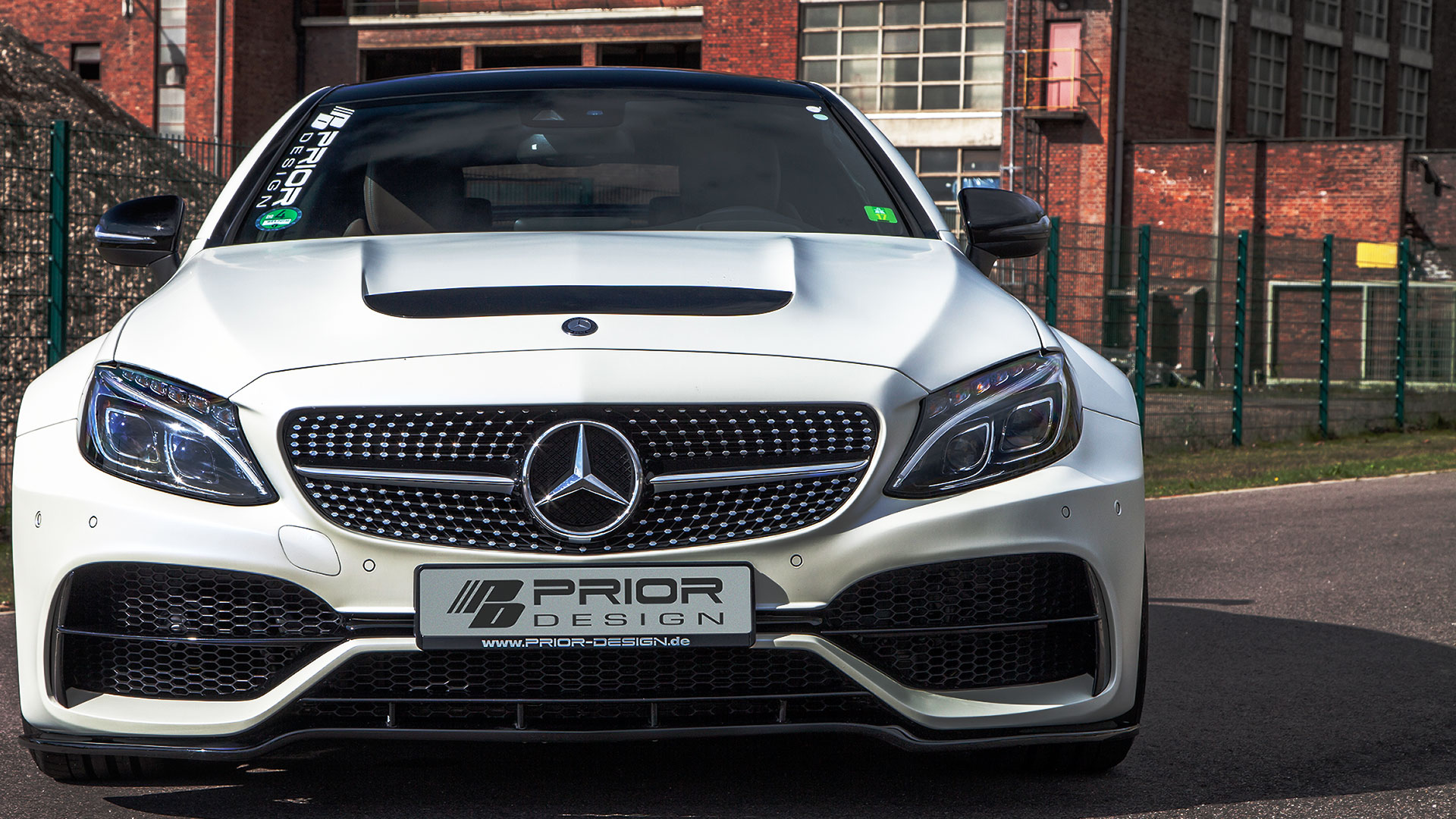 Mercedes C Coupe C205 Tuning Pd65cc Wb Wide Body Aerodynamic Kit