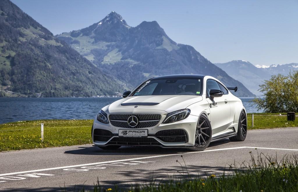 Mercedes C-Coupé C43/C63/C63S AMG C205 Tuning | PD65CC