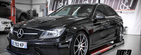 Mercedes C-Class Limousine W204 Tuning - PD Black Edition Widebody Aerodynamic Kit