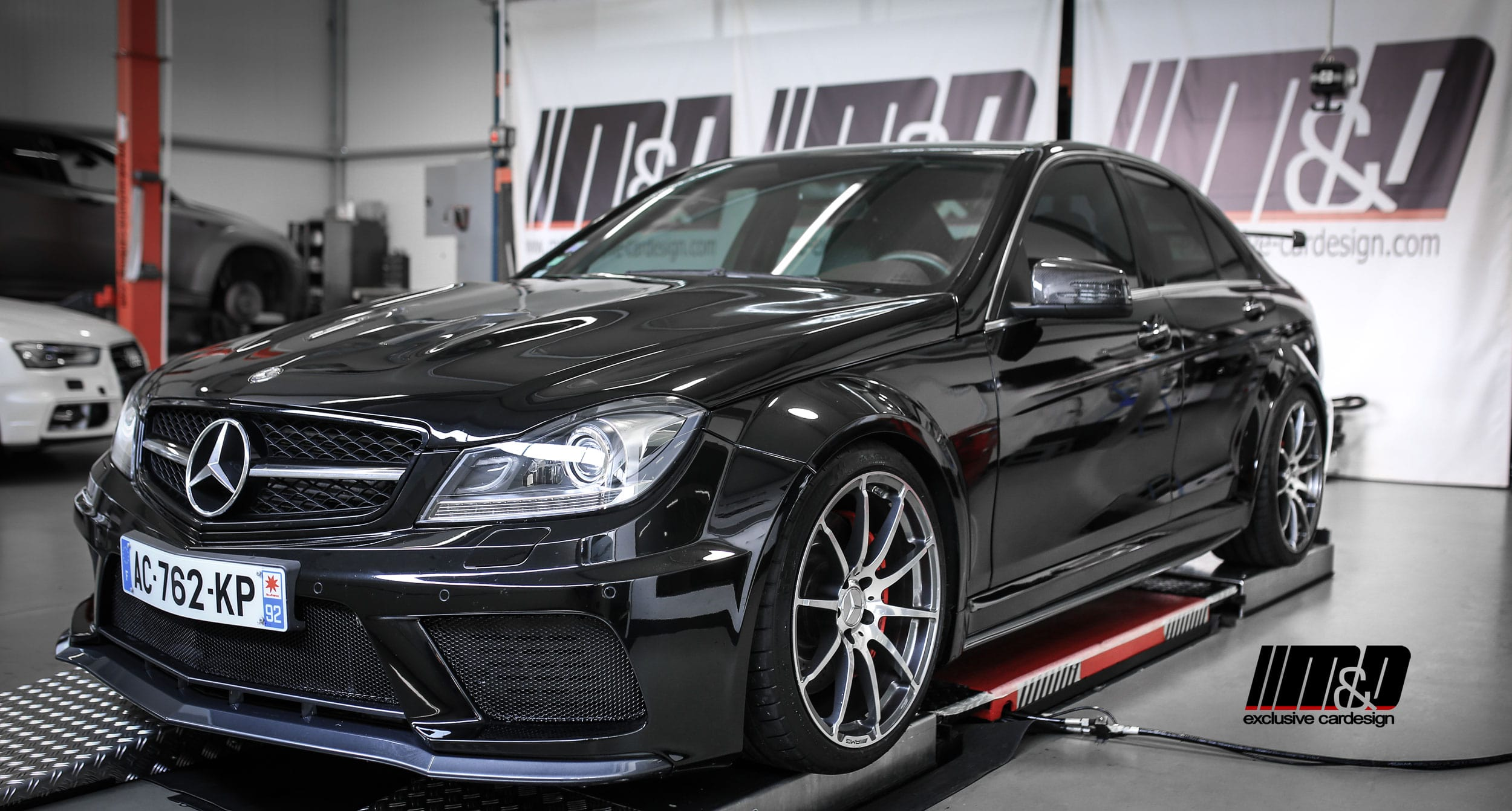 Mercedes C Class W204 Tuning Pd Black Edition Wide Body