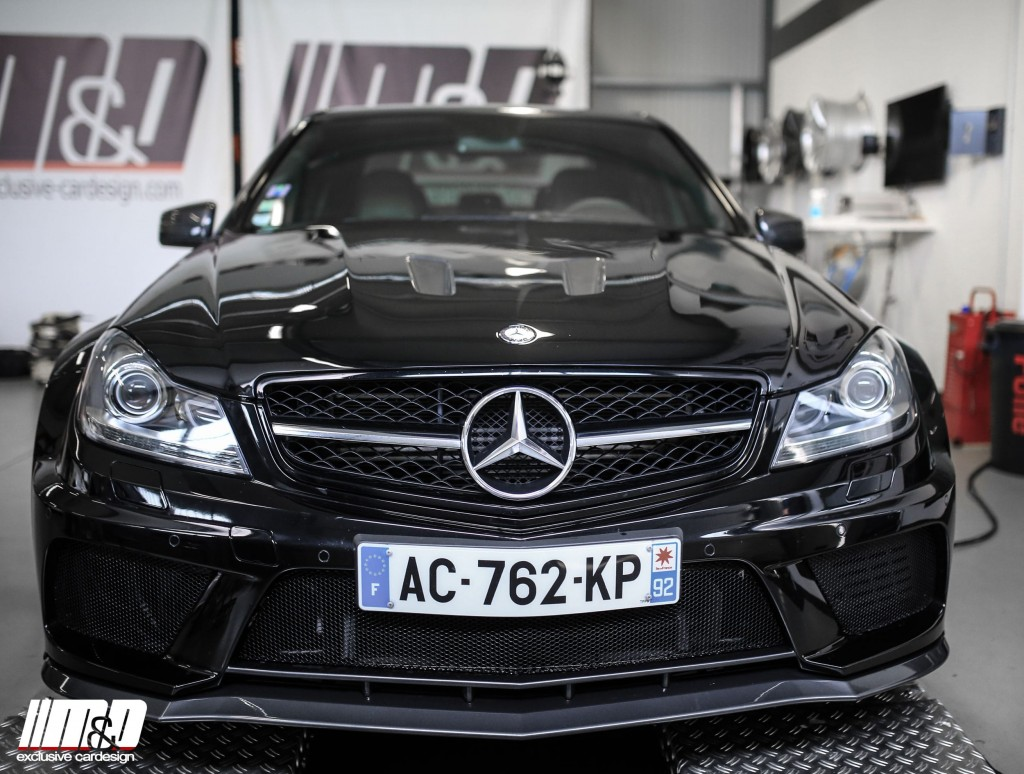 Mercedes C-Class W204 Tuning | PD Black Edition Wide Body
