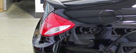 Black Edition V4 Heckflügel groß für Mercedes CL W216