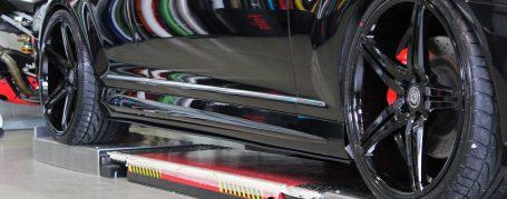 Black Edition V4 Seitenschweller für Mercedes CL W216