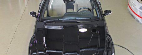 Black Edition V2 Motorhaube für Mercedes CL W216