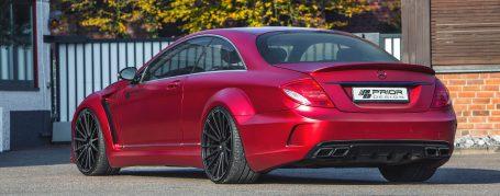 Mercedes CL C216 Tuning - Black Edition V4 Widebody Aerodynamic Kit