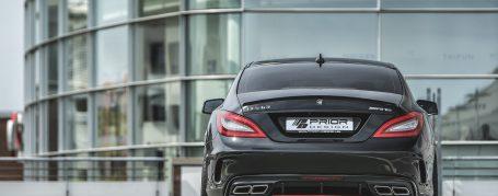 PDV4 Rear Bumper incl. Diffusor for Mercedes CLS W218