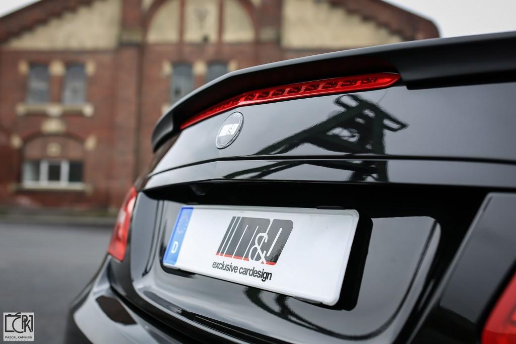 PD850 Black Edition Heckklapppenspoiler für Mercedes E-Coupe C207