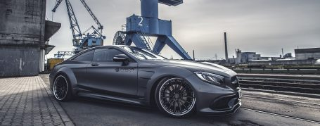 PD75SC Widebody Frontkotflügel für Mercedes S-Coupe C217