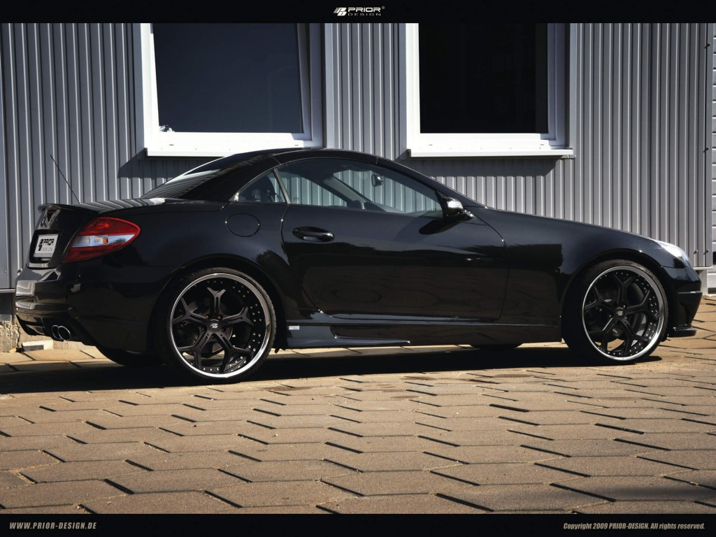 mercedes slk 55 amg black series r171 tuning pd body. Black Bedroom Furniture Sets. Home Design Ideas