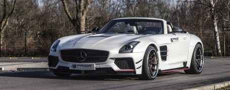 Mercedes SLS Roadster AMG R197 Breitbau Tuning - PD900GT WB Widebody Aerodynamik-Kit
