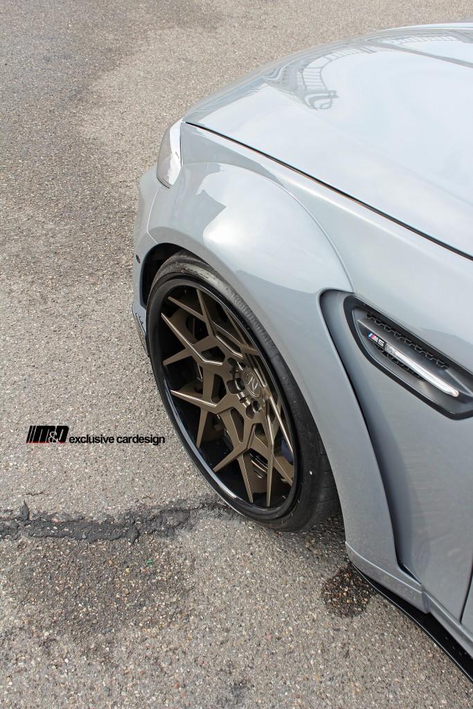 PD55X WB Widebody Frontverbreiterungen / Kotflügelaufsätze für BMW M5 F10