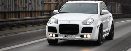 Porsche Cayenne I 955 Breitbau Tuning - PD Widebody Aerodynamik-Kit