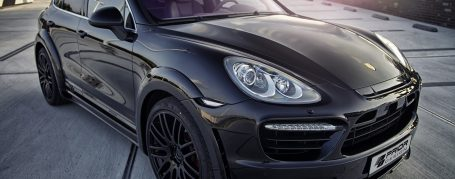 PD600WB Front Widenings for Porsche Cayenne 958