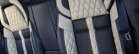 Porsche Panamera 970 exklusive Innenausstattung - zweifarbige Leder + Alcantara