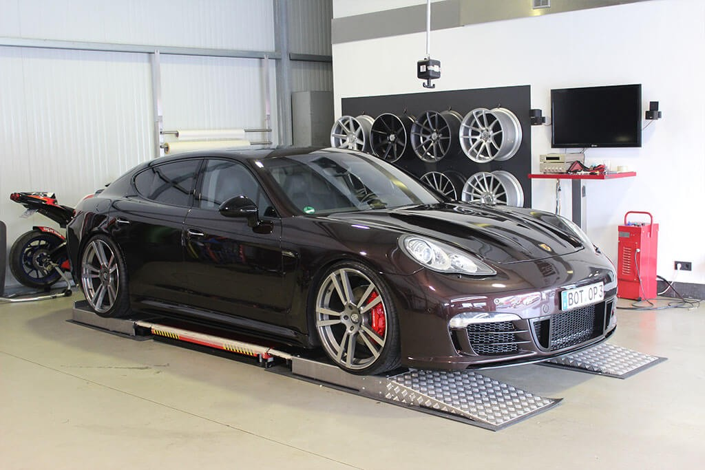 Porsche Panamera 970 Turbo S Tuning - PRIOR600 Aerodynamik-Kit