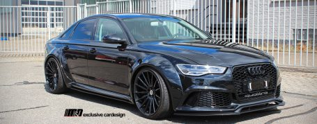 audi a6 rs6 c7 limousine tuning pd600r widebody aerodynamic kit m d exclusive cardesign. Black Bedroom Furniture Sets. Home Design Ideas