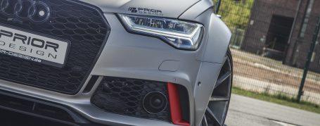 PD600R WB Frontverbreiterungen (6-tlg.) für Audi A6/S6/RS6 C7 [4G] Avant