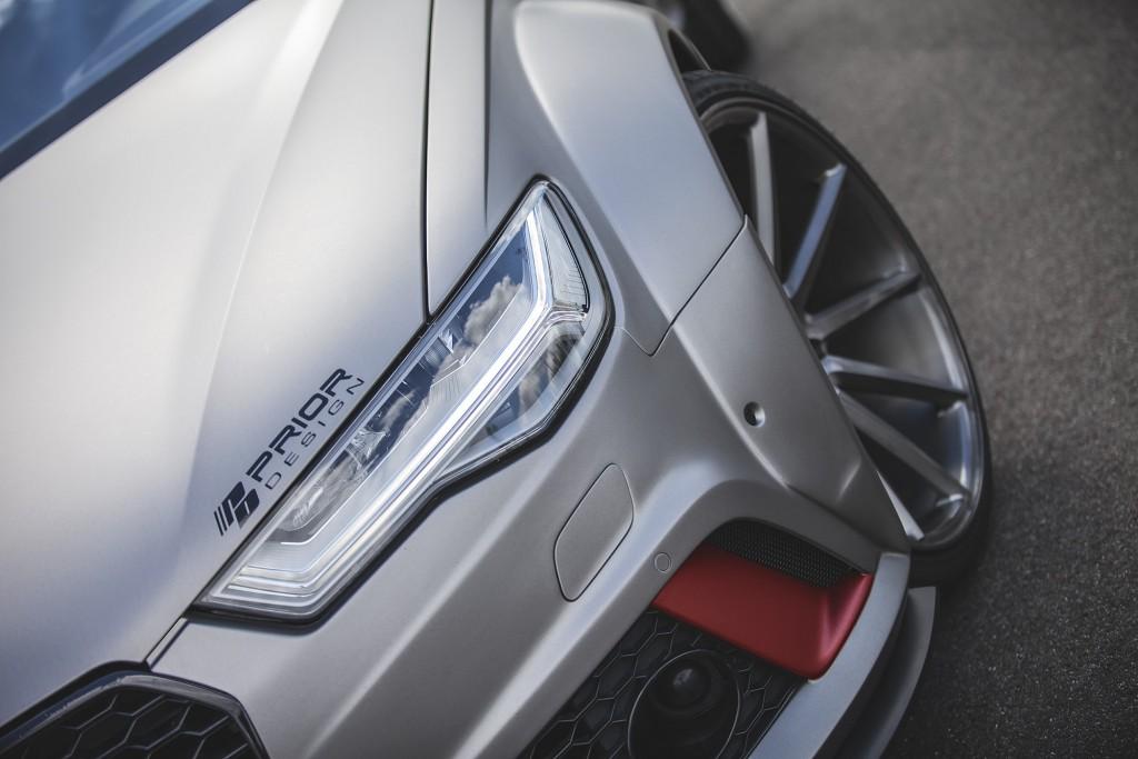 PD600R Widebody Frontverbreiterungen (6tlg) für Audi A6/S6/RS6 Avant C7