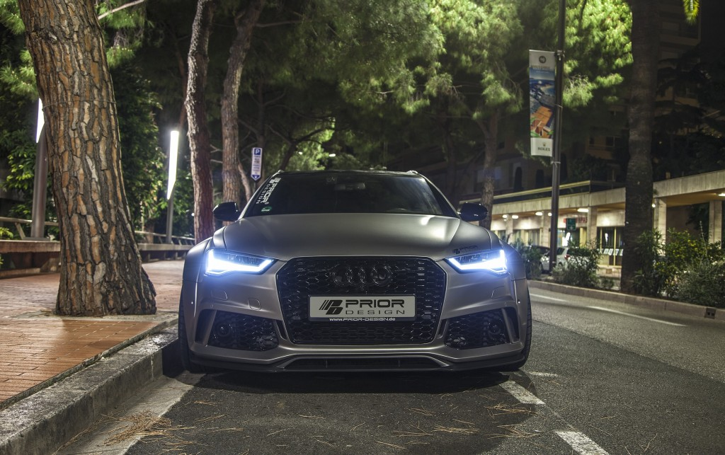 Audi RS6 C7 Avant Tuning - PD600R Widebody Aerodynamik-Kit