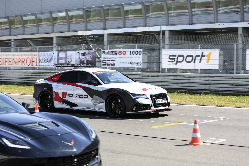 Audi A7/S7/RS7 C7 LeMans Style Tuning mit PD700R Widebody Aerodynamik-Kit