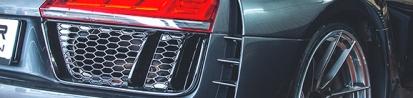 PD800 Rahmen für Heckstoßstange (2 tlg) für Audi R8 4S Coupe/Spyder