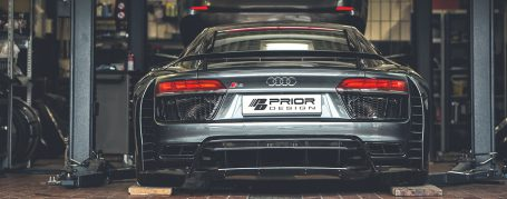 PD800WB Rear Diffusor (2-pcs.) for Audi R8 4S Coupe/Spyder [2015+]
