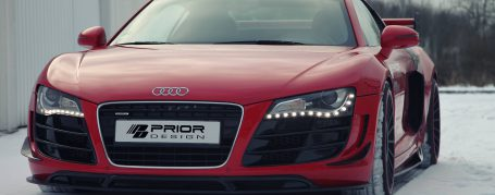PD GT650 Front Bumper with Side Vents for Audi R8 Coupe/Spyder 42 Pre-facelift [2006-2014]