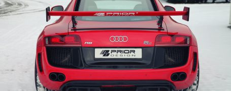 PD GT650 Rear Wing for Audi R8 Coupe/Spyder 42 Pre-facelift [2006-2014]