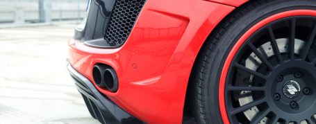 PD GT650 Vents Inserts with Mesh included for Audi R8 Coupe/Spyder 42 Pre-facelift [2006-2014]
