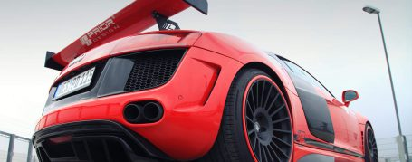 PD GT650 Rear Diffusor for Audi R8 Coupe/Spyder 42 Pre-facelift [2006-2014]