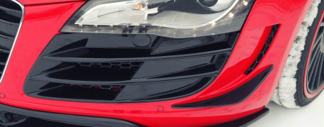 PD GT650 Front Lip Spoiler for Audi R8 Coupe/Spyder 42 Pre-facelift [2006-2014]