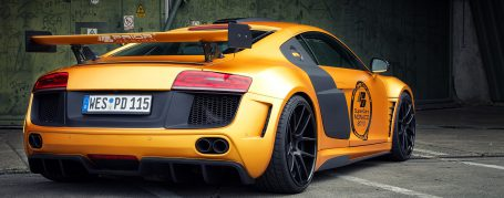 PD GT850 Rear Diffusor for Audi R8 Coupe/Spyder 42 Pre-facelift [2006-2014]