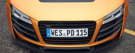 PD GT850 Front Bumper for Audi R8 Coupe/Spyder 42 Pre-facelift [2006-2014]