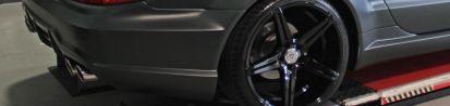 Black Edition Heckstoßstange für Mercedes SL R230