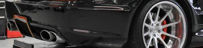 Black Edition Rear Bumper for Mercedes SL R230