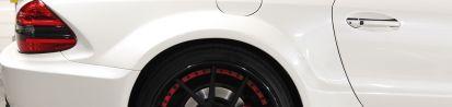 Black Edition Widebody Heckverbreiterung für Mercedes SL R230