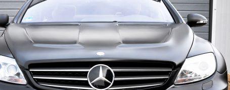 Black Edition V1 WB Motorhaube für Mercedes CL C216
