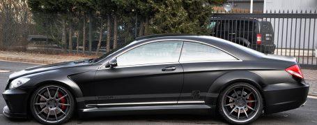 Black Edition V1 WB Seitenschweller für Mercedes CL C216