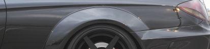 Black Edition V2 Widebody Heckverbreiterungen für Mercedes CL C216