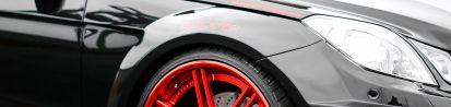 PD850 Black-Edition WB Frontkotflügel für Mercedes E-Coupe / Cabrio C207 & S207