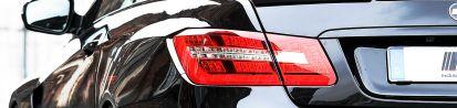 PD850 Black-Edition WB Heckverbreiterungen für Mercedes E-Coupe / Cabrio C207 & S207