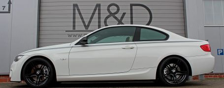 BMW 3-Series E92/E93 Tuning - PDM-1 Front Bumper + Front Spoiler Lip