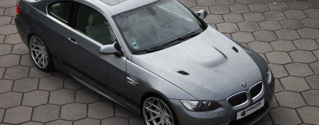 PD-M Engine Cover / Bonnet (with slots) for BMW 3-Series E92/E93 Coupé/Cabrio