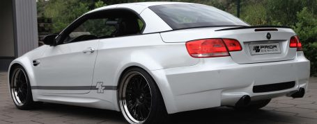 PDM3 WB Rear Widenings for BMW E92/E93 Coupé/Cabrio models