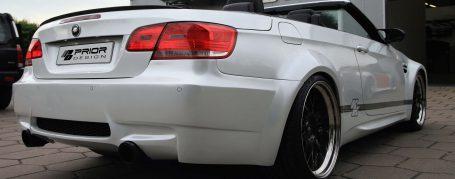 PDM3 WB Rear Bumper for BMW E92/E93 Coupé/Cabrio models